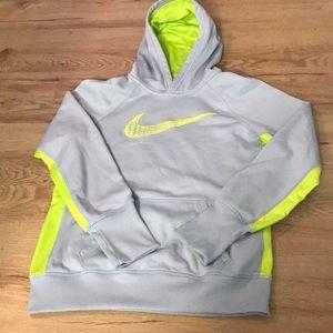 Nike hoodie size medium women's